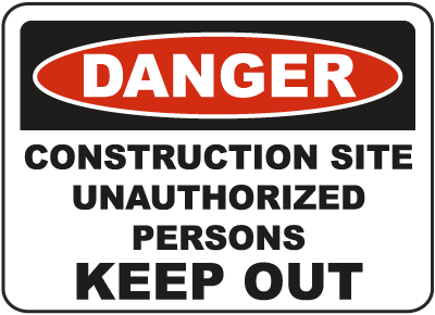 Construction Sign image
